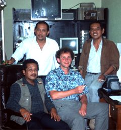 Meeting of the IIMC team 2001, Padangpanjang, West Sumatra